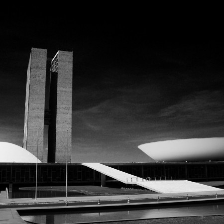 Brasília in black
