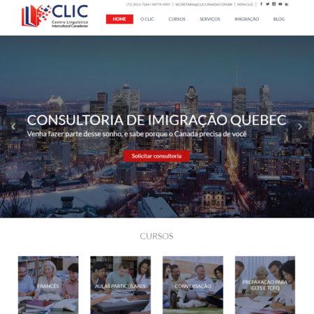 Site CILC Canadá