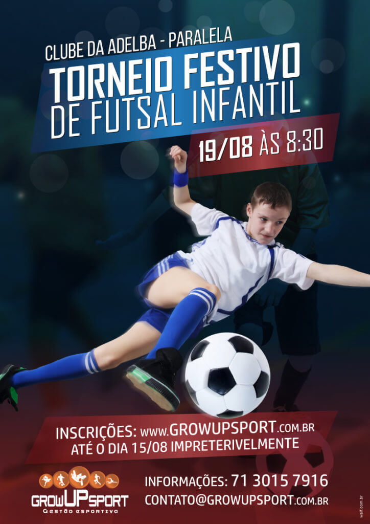 Torneio festivo de Futsal infantil